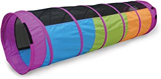 Pacific Play Tents Kids Peek-A-Boo I See You 6 Foot Crawl Tunnel - Multicolor & Mesh