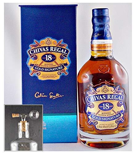 Chivas Regal 18 Jahre Scotch Whisky + 1 Glaskugelportionierer