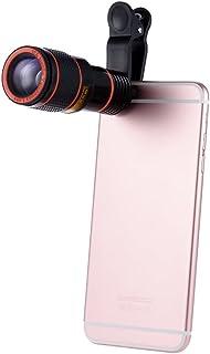 عدسة كاميرا عالمية للتكبير للهواتف المحمولة، بتكبير يصل لـ12 مرة