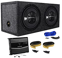small Kenwood P-W1220 12inch 1600W Car Subwoofer + Amplifier + Subbox Package