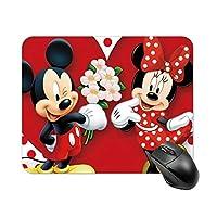 ミッキーマウス Mickey Mouse's Love マウスパッド プレイマット 柔らかい 防水 防塵 デスクマット おしゃれ かわいい アニメ キャラクター グッズ - 18*22cm/20*25cm/25*30cm