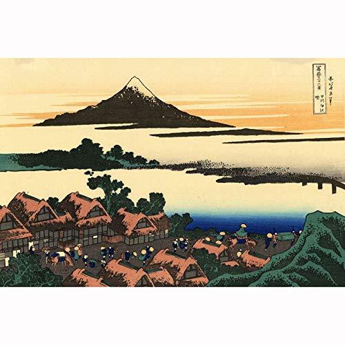 Rompecabezas clásico Montaje Fuji Japón 500 1000 1500 2000 3000 Piezas Rompecabezas de rompecabezas para adultos Difícil pieza grande Piso Puzzle ocio entretenimiento Cumpleaños Regalo Decoración 0104