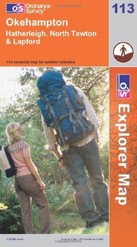 OS Explorer map 113 : Okehampton