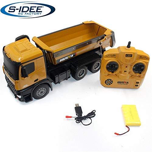 s-idee® S1573 Rc Dump Truck 1:14 LKW 10 Kanal Kipplader Huina 1573*