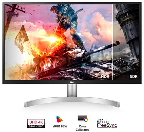 LG 27UL500-W 27-inch 4K HDR IPS adaptive sync monitor