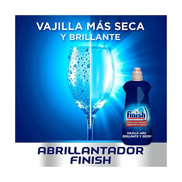 Finish Abrillantador Lavavajillas Fragancia Limón – 500 ml – 100 lavados