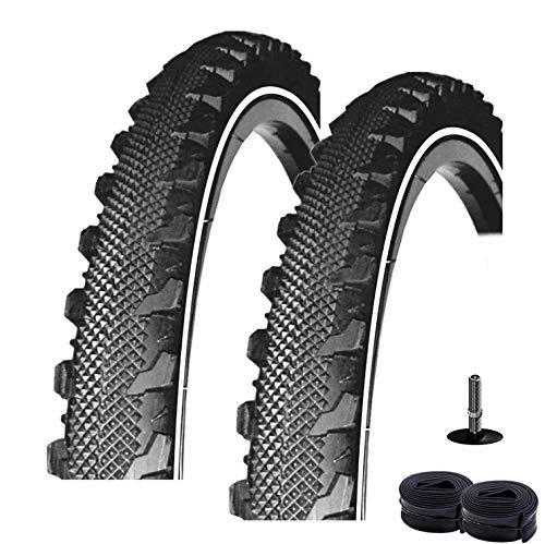 2 x Rexway® Serpent Fahrradreifen Reflex Pannenschutz 47-507 - 24 x 1,75 + 2 Schläuche AV