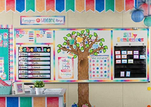 Teacher Created Resources Seasonal Tree Bulletin Board Display Set (4405), Multi Color Photo #3