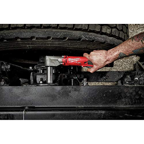 Milwaukee 2564-20 M12 FUEL Lithium-Ion 3/8 in. Cordless Right Angle Impact Wrench with Friction Ring (Tool Only)