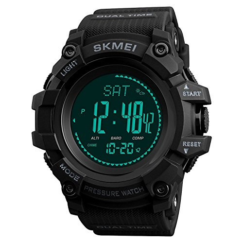 SKMEI Compass Watch Army