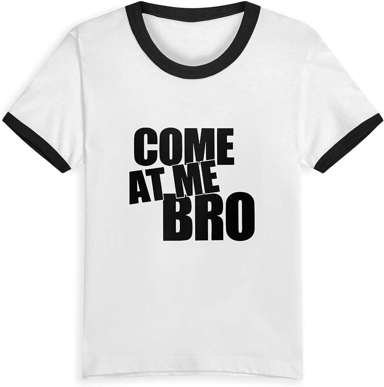 Come at Me Bro Boys Girls Shirts Novelty Kids Short Sleeve T-Shirt Tops Tees 2-5 Years