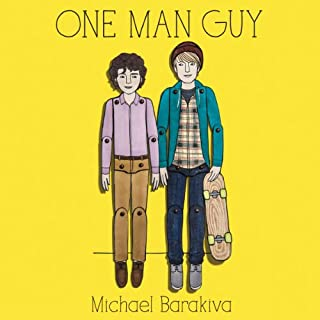 One Man Guy audiobook cover art