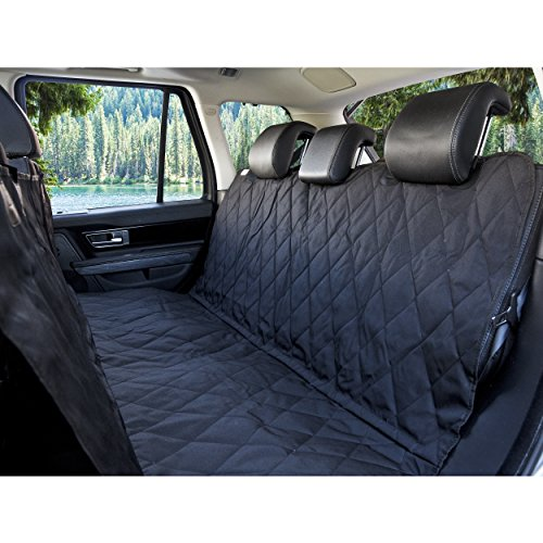 BarksBar Luxury Pet Car Seat Cover with Seat...