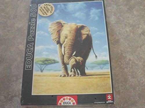 Educa Puzzle 500 Elefantes 12728