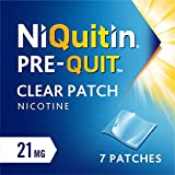 NiQuitin Clear Patch – Pre-Quit 21 mg, 7 Patches – Stop Smoking Aid