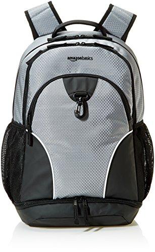 AmazonBasics Sport Laptop Backpack - Grey
