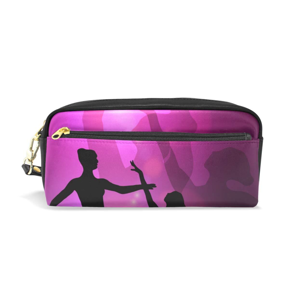 Montoj - Estuche para bolígrafos, diseño de bailarina de ballet, color rosa: Amazon.es: Oficina y papelería