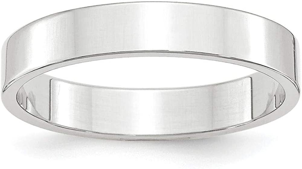 Roy Rose Jewelry 67% OFF of fixed price 14KW 4mm LTW Band 4- Size Topics on TV Flat