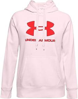 Under Armour Rival Fleece Logo Hoodie Sweat à Capuche Femme