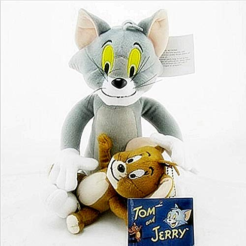 2pcs/Set Tom and Jerry Mouse Plush Toys Cute Animal Stuffed Plush Dolls for Kids