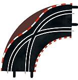 Carrera - GO 143: Cambio Carril en Curva 1/90°, 2 Piezas, Escala 1:43 (20061655)