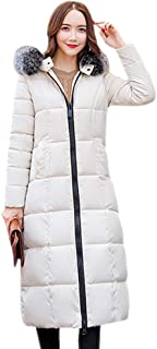 XFentech Women Quilted Coat - Quilted Padded Ladies Cotton Jacket Plus Size Winter Coat
