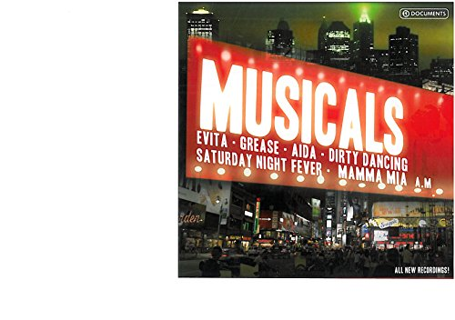 Musicals (10 CD 2008 prima edizione) Evita - Mamma mia - Grease - Beauty and the beast - Aida - Dirty dancing - Saturday night fever - The lion king - Daddy cool - We will rock you -