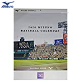 2020年版 MIZUNO ミズノ ベースボールカレンダー 野球カレンダー