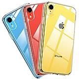 MIRACASE iPhone XR Case, Hybrid Crystal Clear Hard Back &