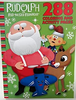 Best red nosed reindeer coloring pages Reviews