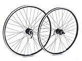 Tru-build Wheels RGR843 - Rueda Trasera para Bicicleta (26 x 1,75 Pulgadas), Color Negro