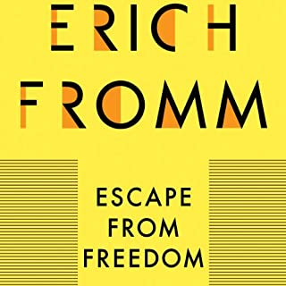 Escape from Freedom                   By:                                                                                                                                 Erich Fromm                               Narrated by:                                                                                                                                 Anthony Haden Salerno                      Length: 8 hrs and 18 mins     141 ratings     Overall 4.5