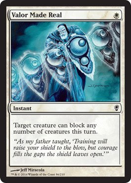 Magic The Gathering - Valor Made Real (86/210) - Conspiracy by
