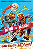 Dine N' Dash - Gaming Poster (Tomatohead & Beef Boss) (Size: 24 x 36 inches)