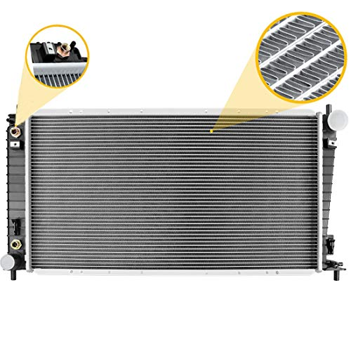 Maxiii Radiator Compatible with 2003 Ford Lobo V8 5.4L,1997-2002 Ford Expedition/F-150/ F-250 V8 4.6L 5.4L, Ford F-250 F-350 Super Duty V8 5.4L,1997-1998,2002-2003 Ford F-150 V6 4.2L
