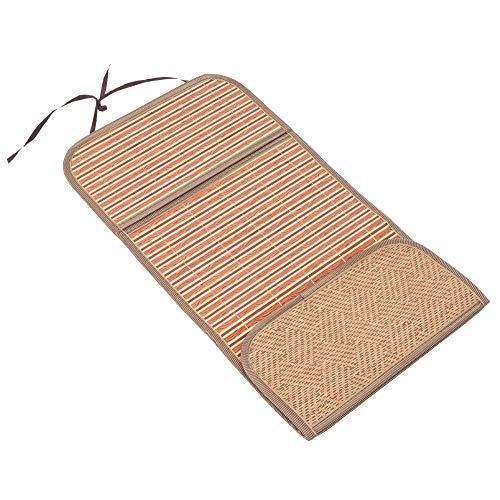 Cerlingwee Cochecito Cool Pad, Buena transpirabilidad Omfortable Fácil de Limpiar Cochecito Bamboo Pad Absorción de Sudor para la protección del Asiento del niño(75 * 33)
