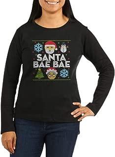 Emoji Santa Bae B Women's Long Long Sleeve T