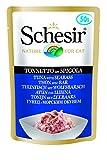 Schesir 0103201 Cat Thunfisch mit Wolfsbarsch, 50 g