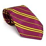 German Trendseller 1 x Zauberer - Krawatte - Gestreift ┃ Wizard Accessoire - Schlips ┃ 138 cm ┃ Magier Schule ┃ Karneval ┃ Fasching ┃ 1 Krawatten