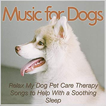 Music for Dogs: Relax My Dog Pet Care Therapy Songs to Help With a Soothing Sleep