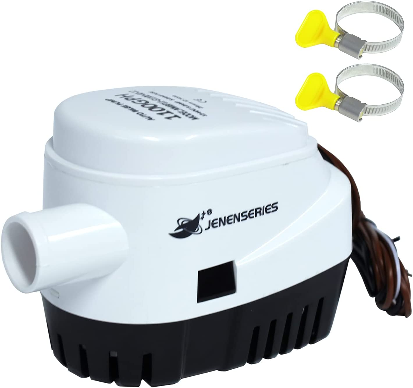 JENENSERIES Louisville-Jefferson County outlet Mall Bilge Pumps 1100 GPH Automatic marine for Electric
