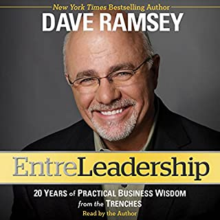 Entreleadership audiobook cover art
