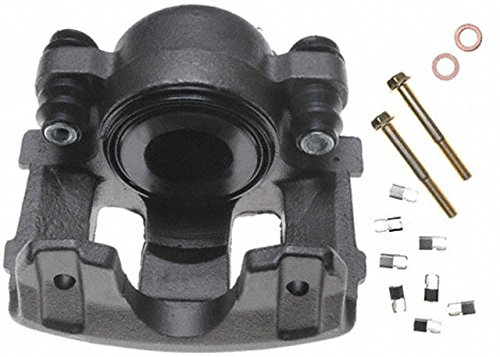 ACDelco 18FR983 Professional Front Passenger Side Disc Brake Caliper Assembly without Pads (Friction Ready Non-Coated), Remanufactured