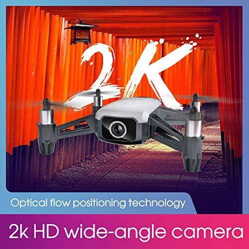 Ronshin SHRC H2 Locke 2K WiFi FPV Drone RTF Mode de positionneHommest du Flux Optique Intelligent 3 Piles