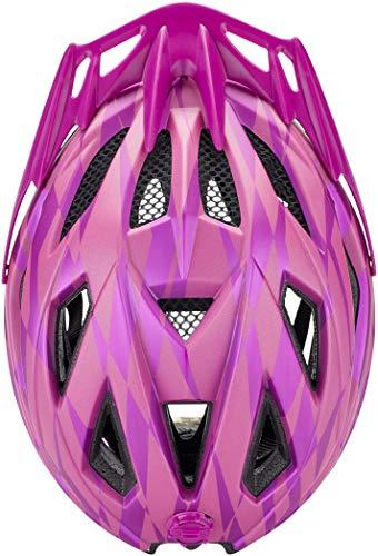 KED Street Jr. Pro Helmet Kinder Violet Kopfumfang S/M | 49-55cm 2020 Fahrradhelm - 6