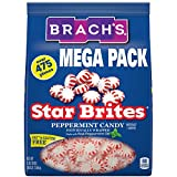 Brach's Star Brites Peppermint Starlight Mints Hard Candy, 5.6 lbs Bulk Candy Bag Individually Wrapped Bulk Holiday Candy