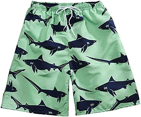 Niubiyansdk Men's Shorts Men's Casual Beach Floral Shorts Summer Fashion Straigh Short Pants Male Brand Comfortable, Hard-Wearing, Simple to Clean (Color : D 04, Size : L)