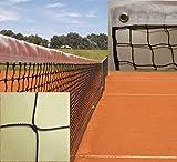Redes Deportivas On Line Red Tenis Sencilla. PE 2 mm Ø Alta tenacidad. Red Económica y de Calidad. Reglamentaria