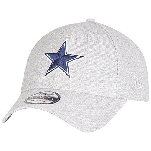 New Era 9Forty Strapback Cap - Dallas Cowboys Heather grau