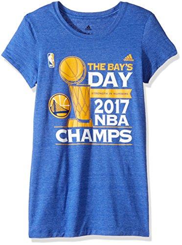 adidas NBA Finals de la Mujer Dos para la Tierra también Camiseta de Manga Cap, Mujer, NBA Finals Two For The Land Too Cap Sleeve tee, Black Heather
